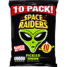 Space Raiders Pickled Onion Flavour Cosmic Corn Snacks 10 x 11.8g
