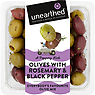 Unearthed Olives with Rosemary & Black Pepper 230g