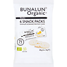 Bunalun Organic Snack Packs Yogurt & Orange Mini Rice Cakes 6 x 14g (84g)