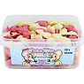 Alma Pink & White Mice Strawberry and Cream Flavour Candy 120 Pieces
