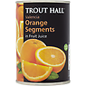 Trout Hall Valencia Orange Segments in Fruit Juice 411g