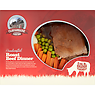 Cloughbane Farm Shop Handcrafted Roast Beef Dinner 550g
