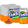Fanta Orange Zero 4 x 330ml