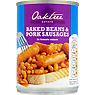 Oaktree Estate Baked Beans & Pork Sausages in Tomato Sauce 405g
