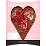 House of Dorchester Hand Decorated Tasty Chocolate Heart 150g