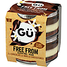 Gu Free From Chocolate & Vanilla Cheesecake Desserts 2 x 82g