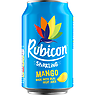 Rubicon Sparkling Mango Juice Drink 330ml Can