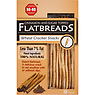 No-No Flatbreads Cinnamon and Sugar Topped Wheat Cracker Snacks 125g
