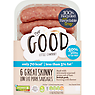 The Good Little Company 6 Great Skinny Sausages 360g