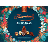 Thorntons Limited Edition Christmas Collection Milk, Dark, White Chocolates Gift Box 418g