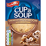 Batchelors Cup a Soup Cream of Mushroom with Croutons 4 Sachets 99g