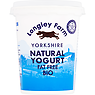 Longley Farm Yorkshire Natural Yogurt Fat Free Bio 450g
