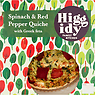 Higgidy Family Kitchen Spinach & Red Pepper Quiche with Greek Feta 400g