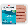 Edwards of Conwy 10 Traditional Pork Sausages 667g