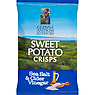 Glens of Antrim Potatoes Sweet Potato Crisps Sea Salt & Cider Vinegar 100g