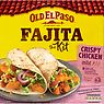 Old El Paso Crispy Chicken Fajita the Kit 555g