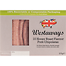 Westaways 10 Honey Roast Flavour Pork Chipolatas 375g