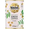 Biona Organic Lentils Green in Water 400g