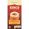 Kenco Cappuccino Instant Coffee Sachets x8