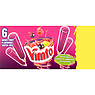 Vimto Mixed Fruit Flavoured Water Ices 6 x 45ml