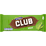 McVitie's Club Mint Chocolate Biscuits Bars 8 Pack (176g)