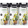 The Cracker Drinks Co Pineapple, Guava & Lime Fruit Juice Drink 3 x 250ml