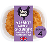 Moy Park Superbly Saucy Creamy Garlic Chicken Kievs 2 x 260g