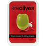 Areolives Green Olives with Chilli and Garlic 95g