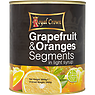 Royal Crown Grapefruit & Oranges Segments in Light Syrup 3000g