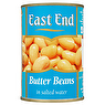 East End Butter Beans in Salted Water 400g