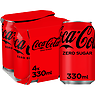 Coca-Cola Zero Sugar 4 x 330ml
