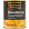 Royal Crown Ungraded Mandarin Segments in Light Syrup 800g