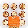 Scotts 9 Miniature Carrot Cupcakes 200g