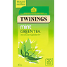 Twinings Mint Green Tea 20 Single Tea Bags 40g