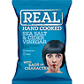 Real Handcooked Sea Salt & Malt Vinegar Flavour Potato Crisps 35g