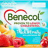 Benecol Thick & Fruity Summer Fruits Yogurt 4 x 120g Strawberry