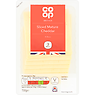Co Op British Mature Cheddar Cheese 8 Slices 150g