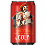 Captain Morgan Spiced Gold Rum & Cola 5% 330ml