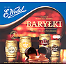 E. Wedel Dark Chocolate Barrels with Alcoholic Filling 200g