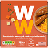 Weight Watchers Lincolnshire Sausage & Root Vegetable Mash 380g