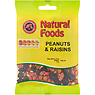 Natural Foods Peanuts & Raisins 130g