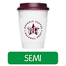 Pret Flat White Coffee (Semi-Skimmed Milk)