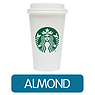 Starbucks Caffe Latte (Almond Milk)