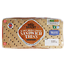 Aldi The Village Bakery 6 Soft Brown Sliced Sandwich Thins 240g