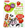 Humdinger The Fruit Factory 5 Strawberry Fruit & Yoghurt Bars 100g