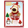 Kinnerton Boofle Advent Calendar 25 Chocolate Shapes 90g