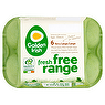 Golden Irish Fresh Free Range 6 Very Large/Large Eggs