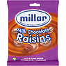 Millar Milk Chocolate Raisins 170g