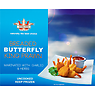 Crown Farms Uncooked Breaded Butterfly King Prawn 400g