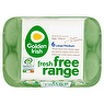 Golden Irish Fresh Free Range 6 Large/Medium Eggs 348g